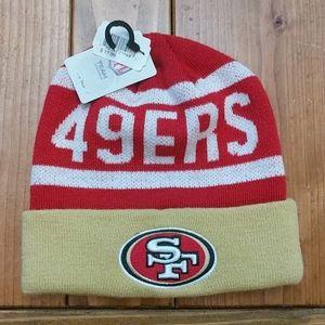 San Francisco 49ers stocking cap/beanie one size